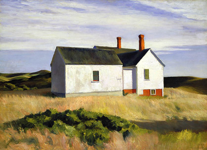 Ryders House - Edward Hopper