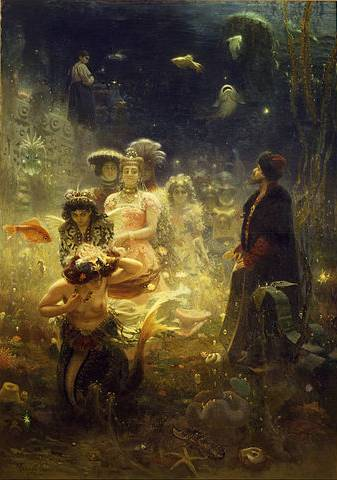Sadko in the Underwater Kingdom - Ilya Repin