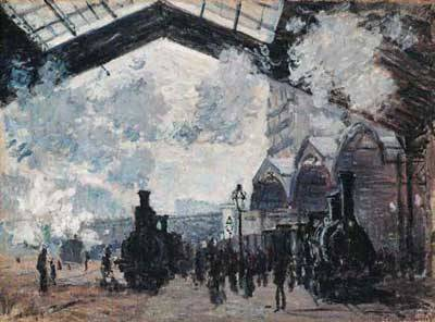 Saint Lazare Station - Claude Monet