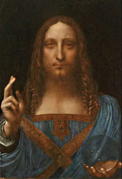 Salvator Mundi (Savior of the World) - Leonardo da Vinci