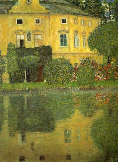 Schlob Kammer on the Attersee - Gustav Klimt