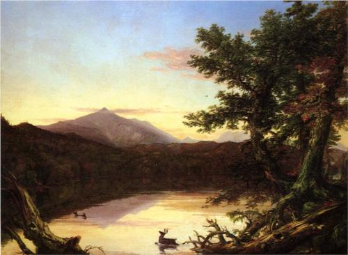 Schroon Lake - Thomas Cole