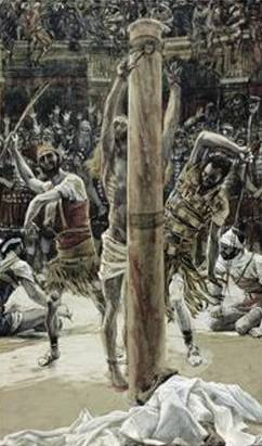 Scourging of the Back - James Tissot