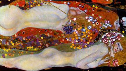 Sea Serpent II - Gustav Klimt
