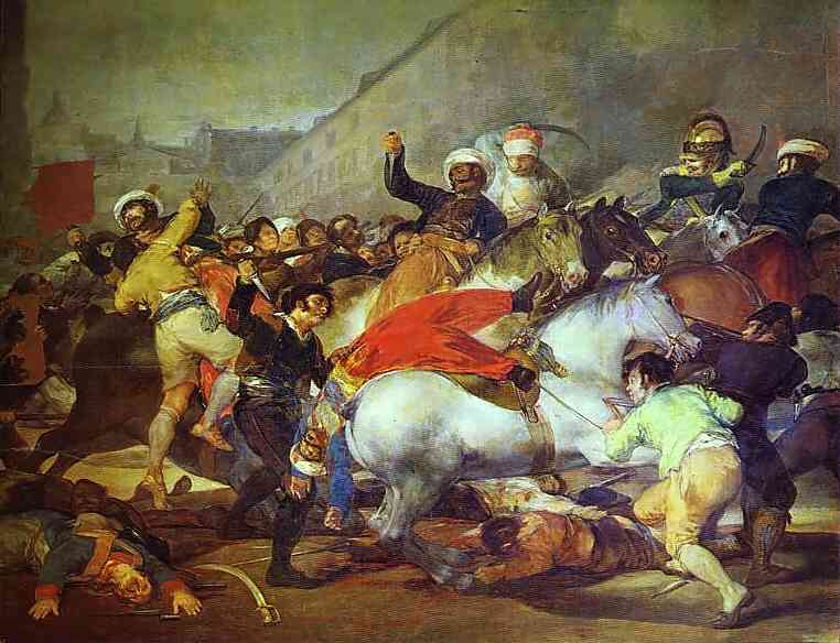Second of May 1808 at the Puerta del Sol - Francisco de Goya
