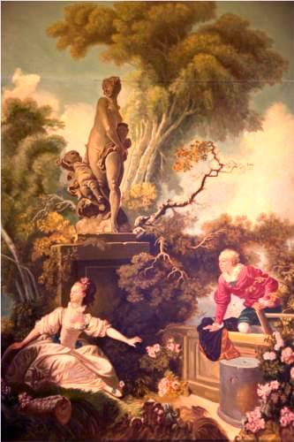 Secret Meeting (Progress of Love) - Jean Honore Fragonard
