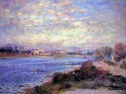 The Seine at Argenteuil - Pierre Auguste Renoir