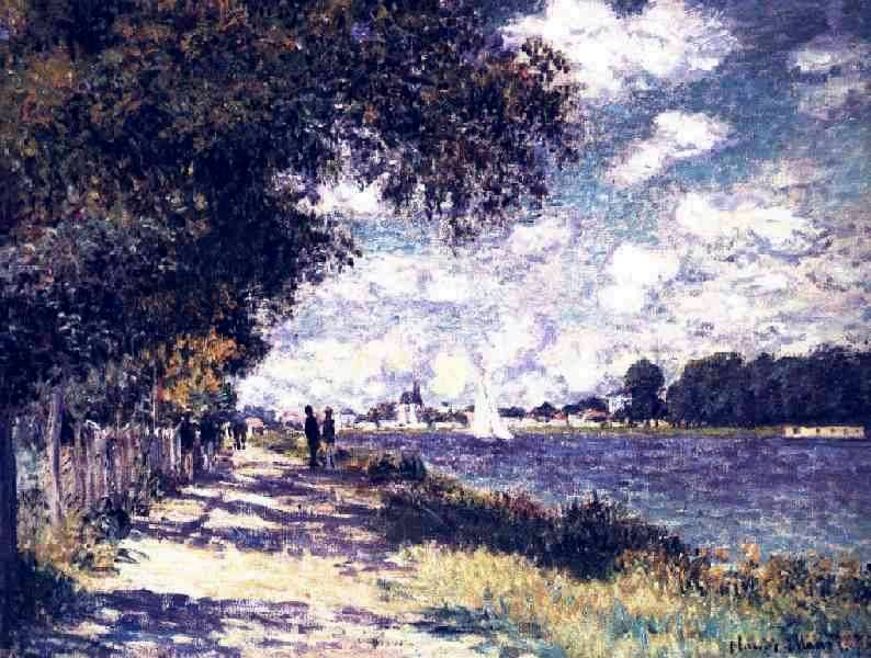 Seine at Argenteuil - Claude Monet