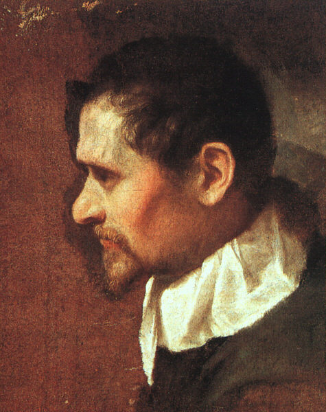 Self Portrait - Annibale Carracci
