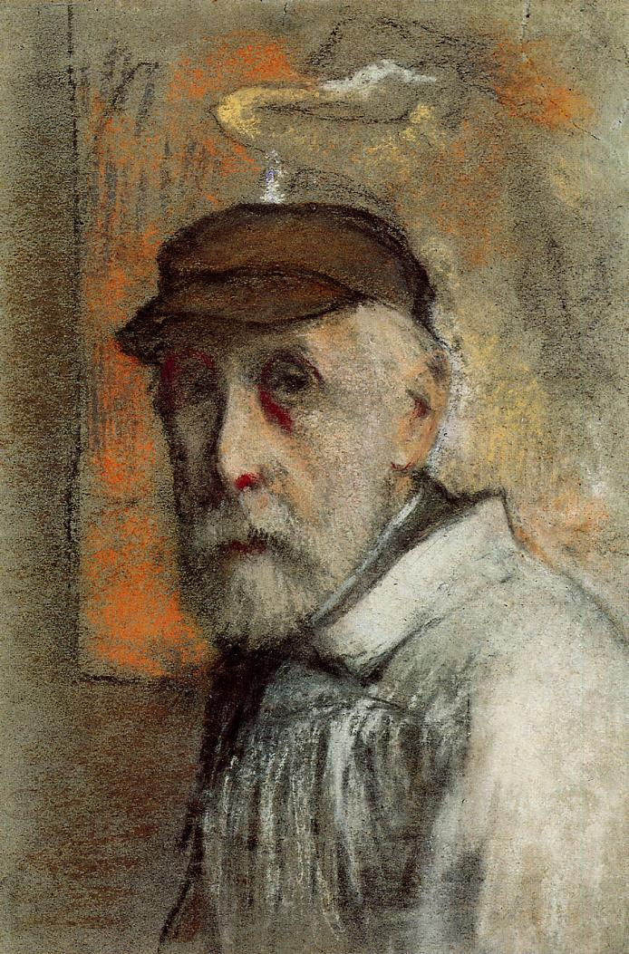 Self Portrait - Edgar Degas