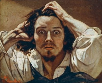 Self Portrait - Gustave Courbet