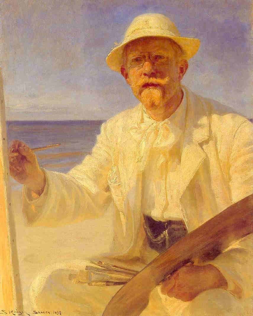Self Portrait - Peter Severin Kroyer
