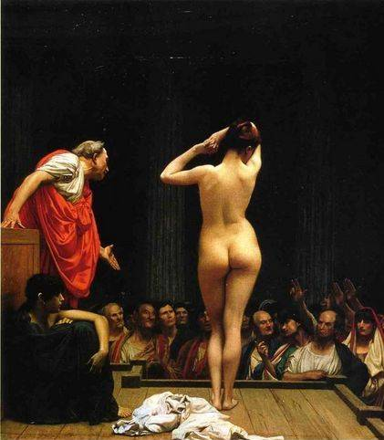 Selling Slaves in Rome - Jean Leon Gerome