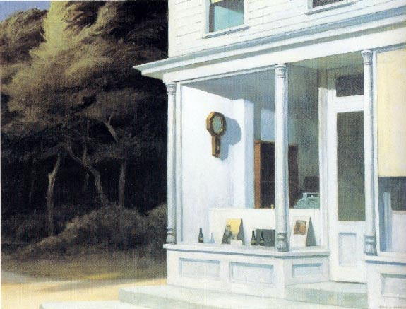 Seven AM - Edward Hopper