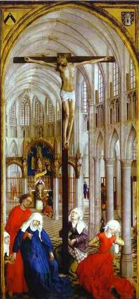 Seven Sacraments center - Rogier van der Weyden