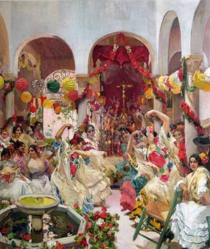 Seville, the Dance - Joaquin Sorolla