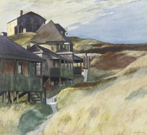Shacks at Pamet Head - Edward Hopper