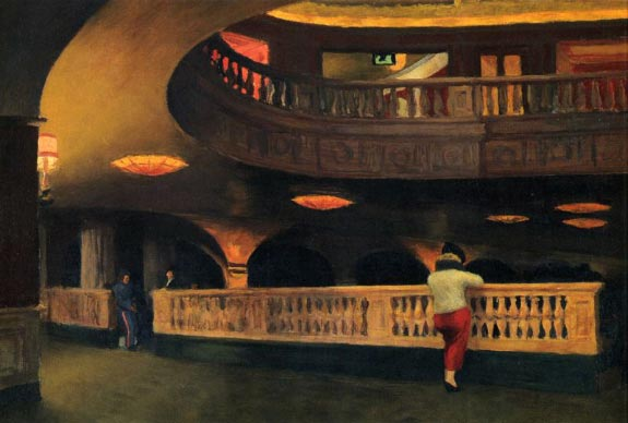 Sheridan Theatre - Edward Hopper