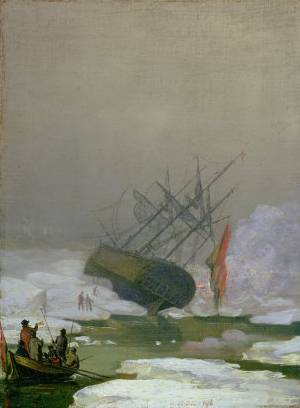 Ship in the Polar Sea, 12th December 1798 - Caspar David Friedrich