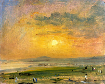 Shoreham Bay, Evening Sunset - John Constable