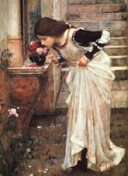 The Shrine - John William Waterhouse