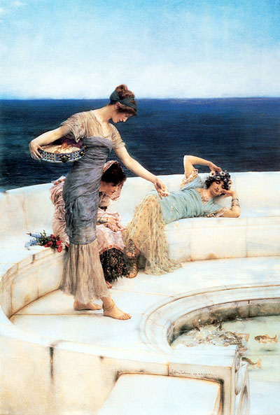 Silver Favorites - Lawrence Alma Tadema