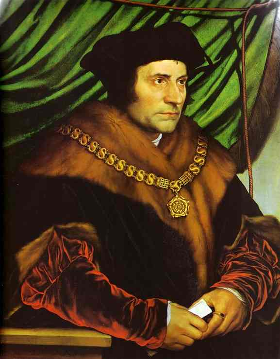 Sir Thomas More - Hans Holbein