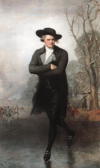 Skater Portrait of William Grant - Gilbert Stuart