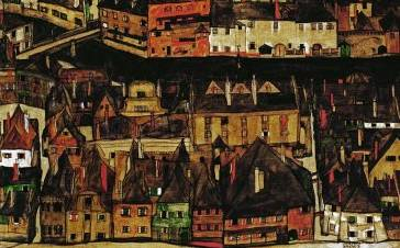 Small City III - Egon Schiele