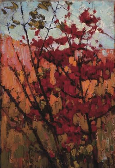 Soft Maple in Autumn - Tom Thomson