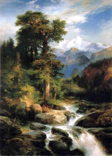 Solitude 1897 - Thomas Moran