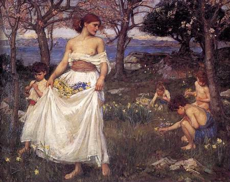 Song of Springtime - John William Waterhouse