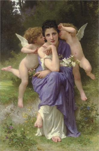 Songs of Spring - William Adolphe Bouguereau