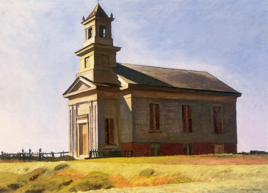 South Truro Church - Edward Hopper