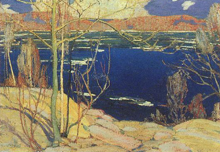 Spring Ice - Tom Thomson