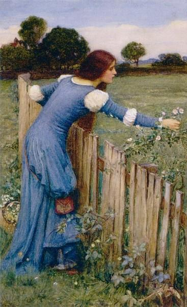 Spring The Flower Picker - John William Waterhouse