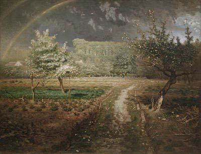 Spring at Barbizon - Jean Francois Millet