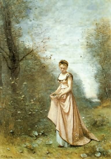 Springtime of Life - Jean Baptiste Camille Corot