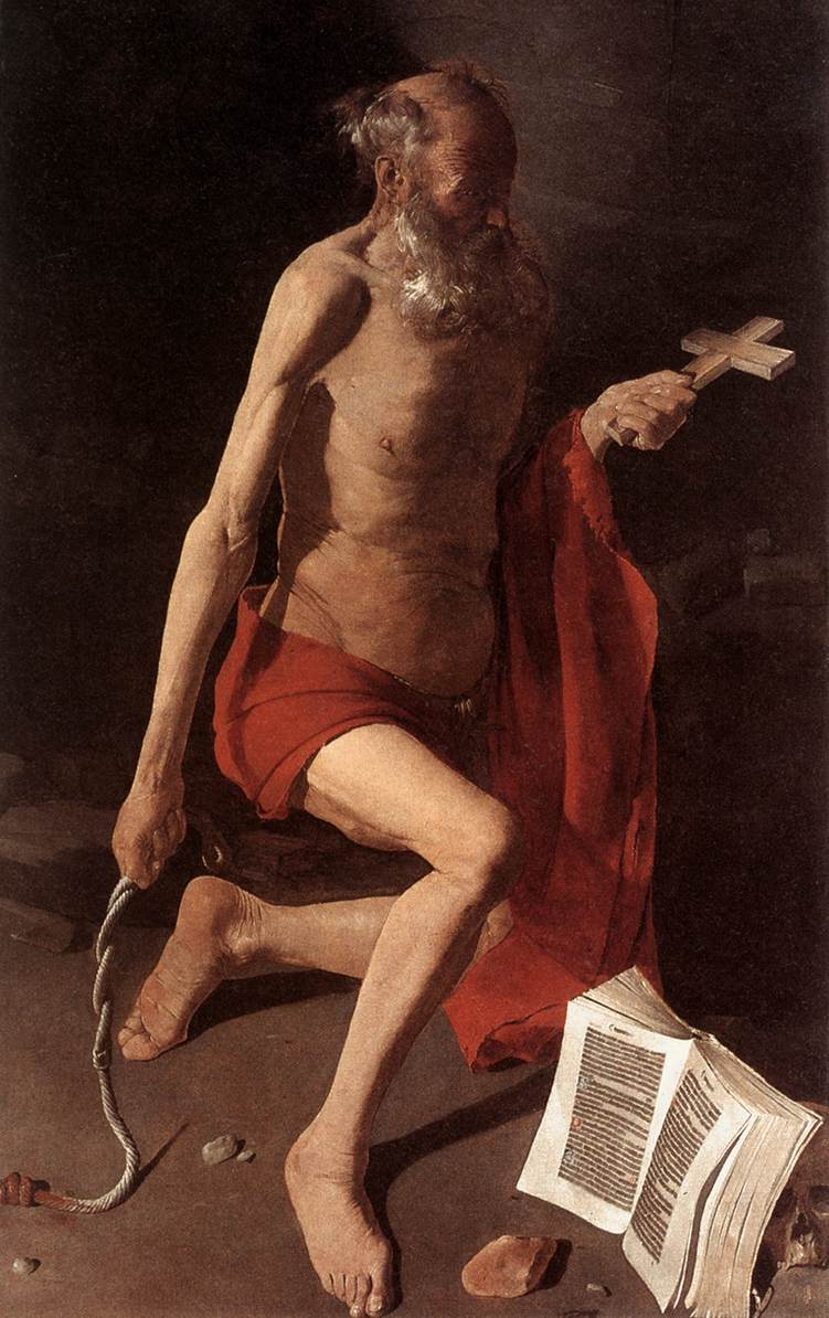 St Jerome - Georges de La Tour
