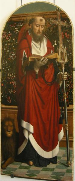 St Jerome Polyptych of Cervara - Gerard David