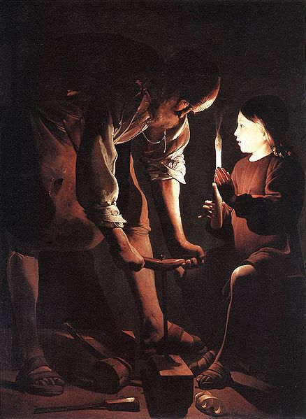 St Joseph, the Carpenter - Georges de La Tour