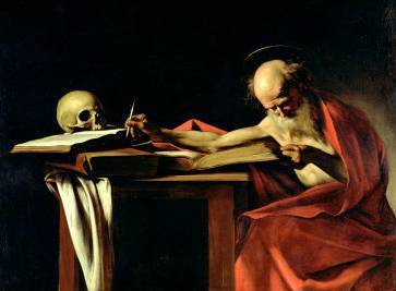 St. Jerome Writing - Michelangelo Merisi da Caravaggio
