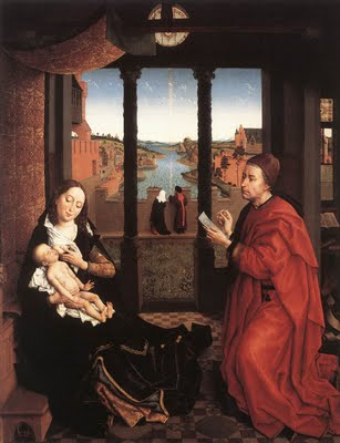 St. Luke drawing the Madonna 1435 - Rogier van der Weyden