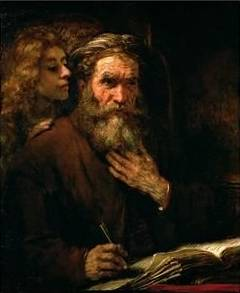 St. Mathew and Angel - Rembrandt van Rijn