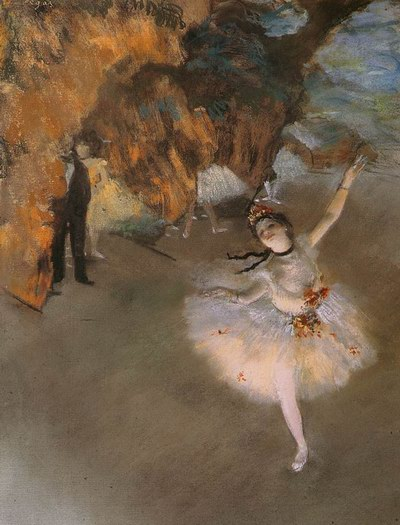 The Star - Edgar Degas