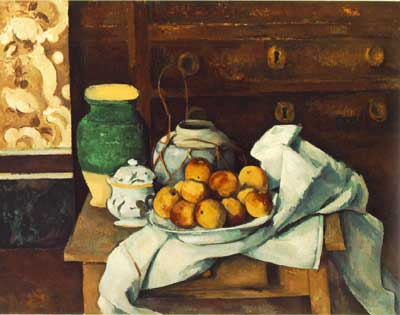 Still Life with Commode - Paul Cezanne