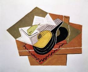 Still Life with a Guitar II - Juan Gris