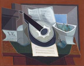 Still Life with a Guitar - Juan Gris