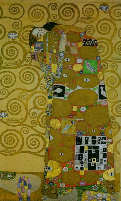 Stoclet Frieze: Fullfilment - Gustav Klimt