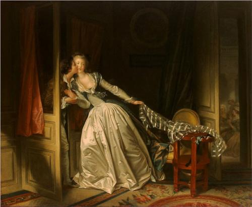 Stolen Kiss - Jean Honore Fragonard